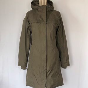 The North Face women's hooded coat size small